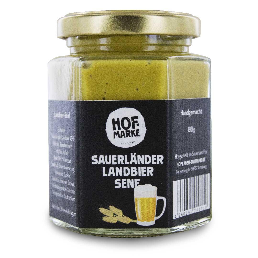 Sauerländer Landbier Senf von unserer Hofmarke
